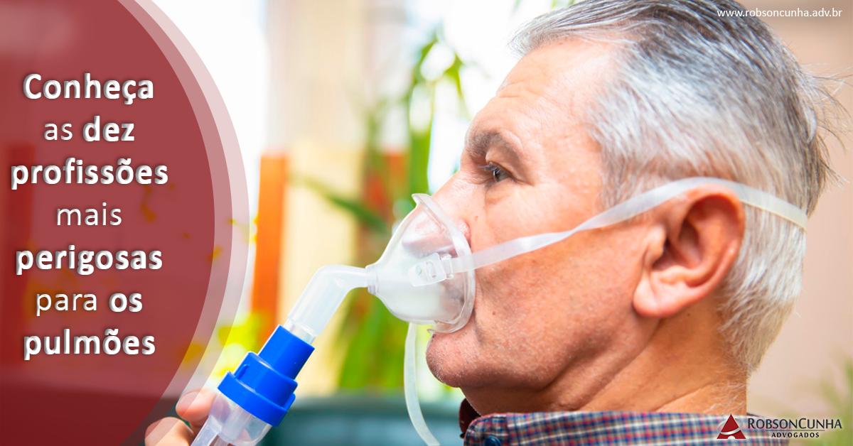 Conheça as dez profissões mais perigosas para os pulmões