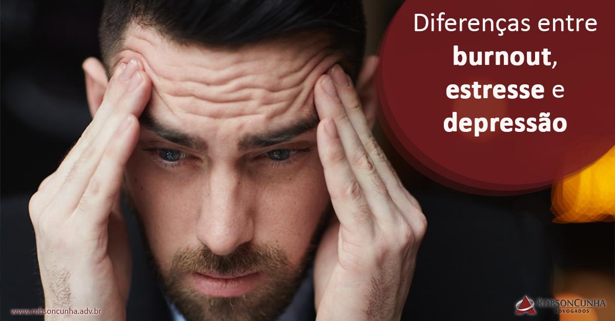 Síndrome de Burnout: Entenda diferenças entre burnout, estresse e depressão