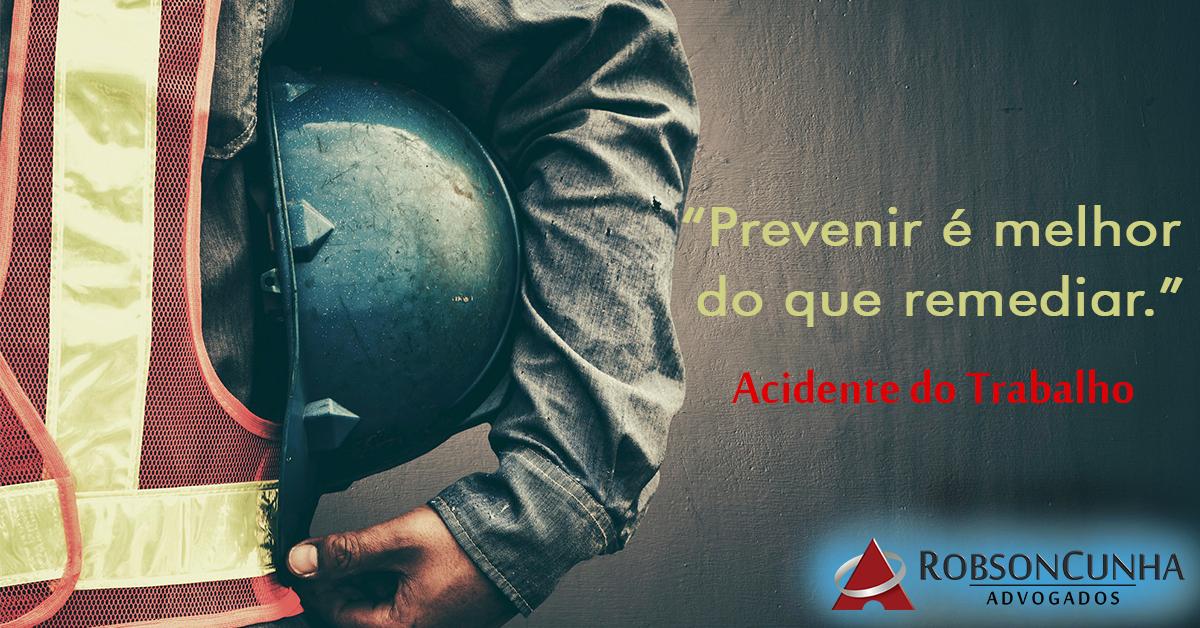 """""""Prevenção de acidentes de trabalho: custo ou investimento?"""", artigo do desembargador Fabiano Holz Beserra"""